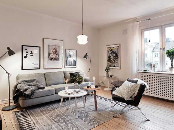35 Light And Stylish Scandinavian Living Room Designs | Living .