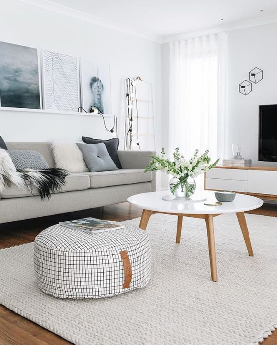 8 Ways to Style Scandinavian Interior Design at Home | Living room .