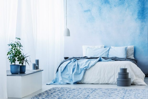 Importance of Blue Bedroom Décor for Sle