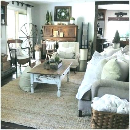 Beautiful shabby chic farmhouse living room design ideas 93 on .