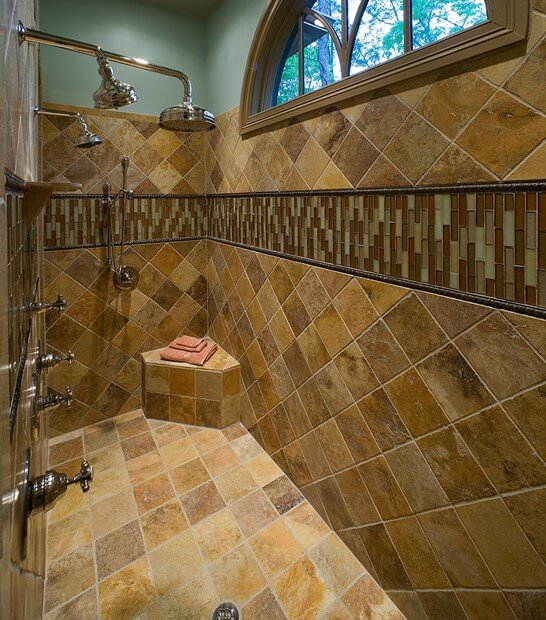 6 Bathroom Shower Tile Ideas | Tile Shower | Bathroom Ti