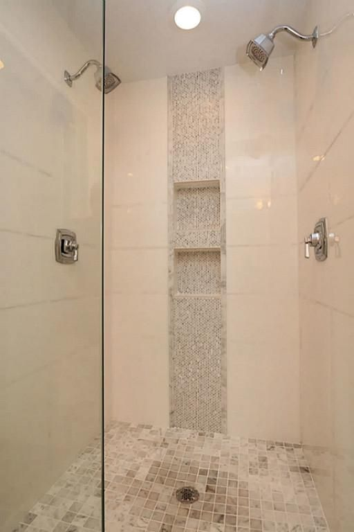 vertical shower accent tile ideas - Google Search | Shower accent .