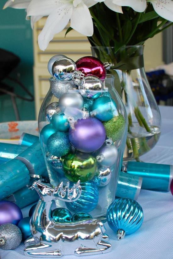 Blue Christmas Decorations - Christmas Celebration - All about .