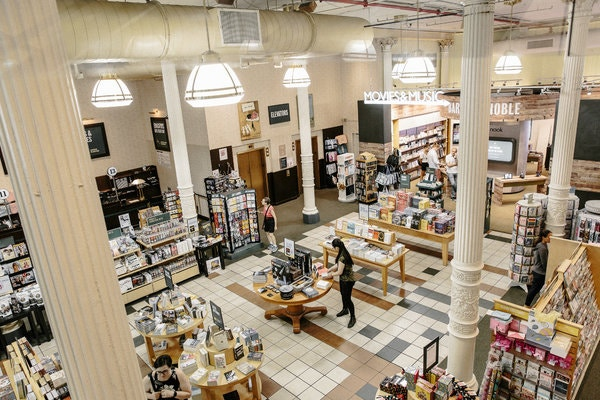 Can Britain's Top Bookseller Save Barnes & Noble? - The New York Tim