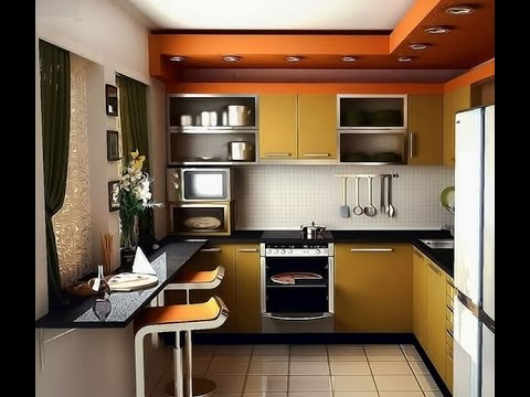 Simple And Small Kitchen Design Ideas For Small Space - YouTu