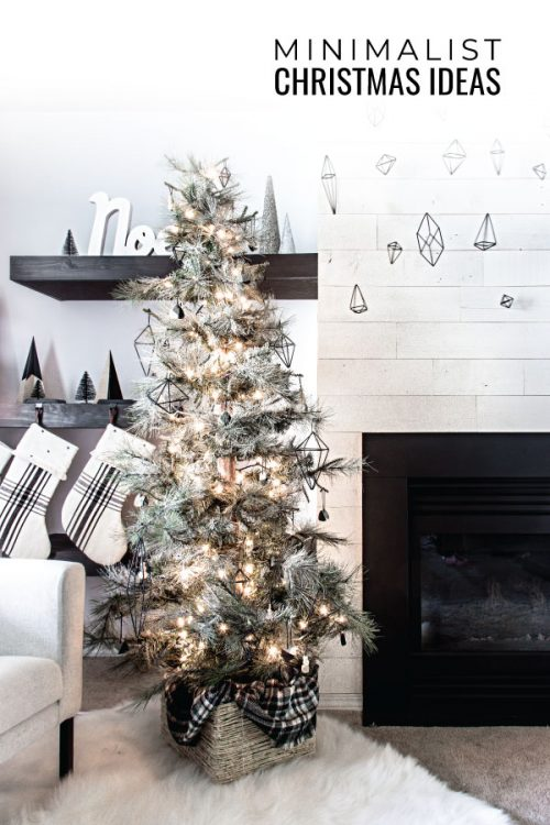 Simple Minimalist Christmas Decor Ideas