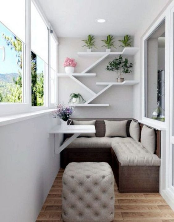 24 Modern Small Balcony Design Ideas For Apartment | Apartment .