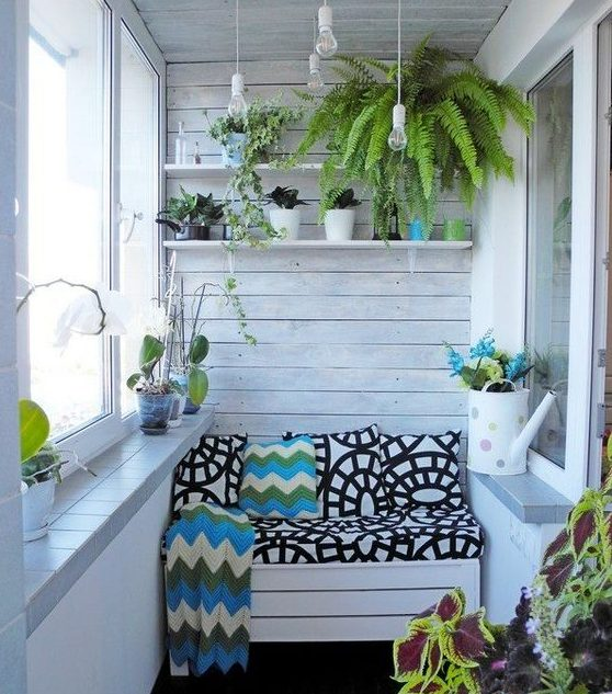 17 Attractive Small Balcony Designs That Everyone Will Ado