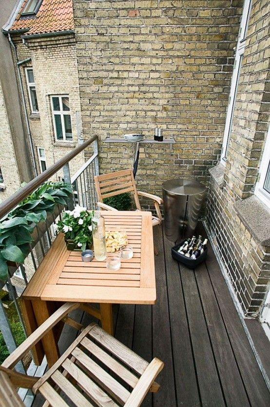 25 Unique Balcony Decor Ideas with Images | Small balcony design .