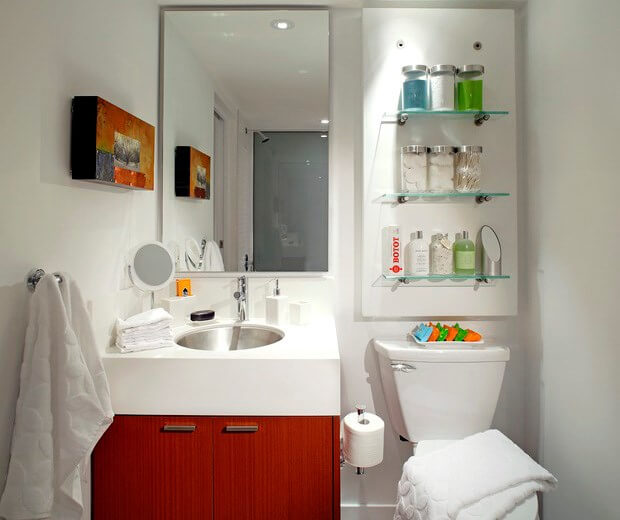 6 Bathroom Ideas for Small Bathrooms | Small Bathroom Desig