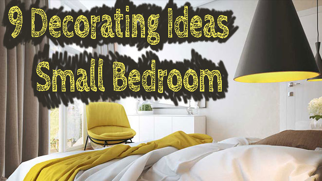 9 Modern Small Bedroom Decorating Ideas [Minimalist style on a budge