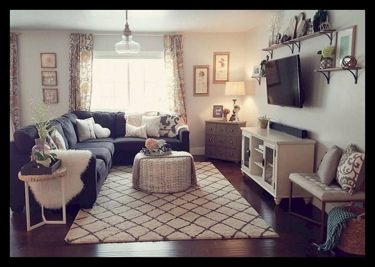 82+ Comfy Small Apartment Living Room Decorating Ideas on A Budg .