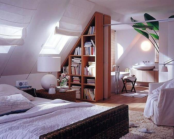 70 Cool Attic Bedroom Design Ideas - Shelterne