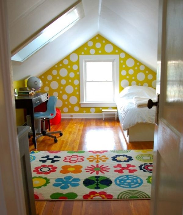 25 Inspirational Attic Room Design Ideas | Attic bedroom small .