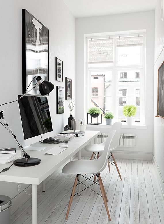 Small home office inspiration | Home office space, Small home .