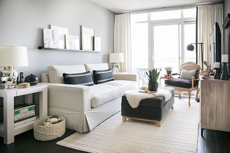 A Toronto Condo Packed With Stylish Small Space Solutions | Condo .