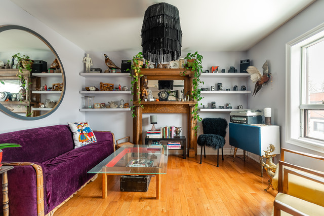 Bespoke Interior Design: Small Downtown Apartment - Eclectic .