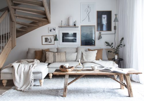 Scandinavian-Style Living Room Design Inspirati