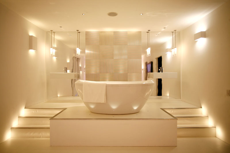 Spa bathroom lighting | Home Decor & Interior/ Exteri