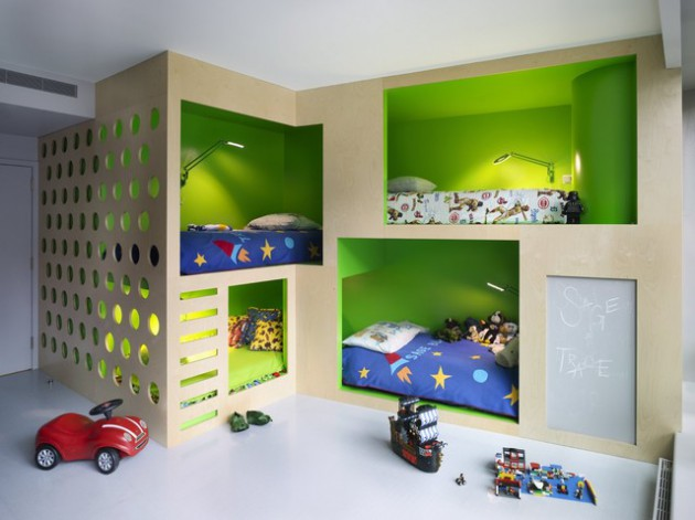 17 Super Smart Ideas For Decorating Kids Room With Four Be