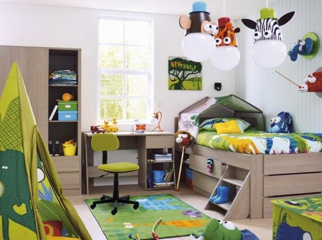 Kids Room Designs, Awesome Sanctuary Forest Theme And Smart .