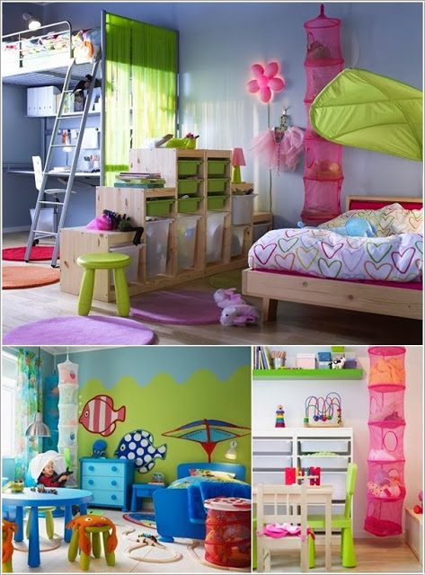 10 Smart Storage Solutions for Your Kids Room ~ Dream Interior Dec