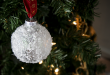 Snowball Christmas Ornament - Easy DIY Christmas Ornament - Clumsy .