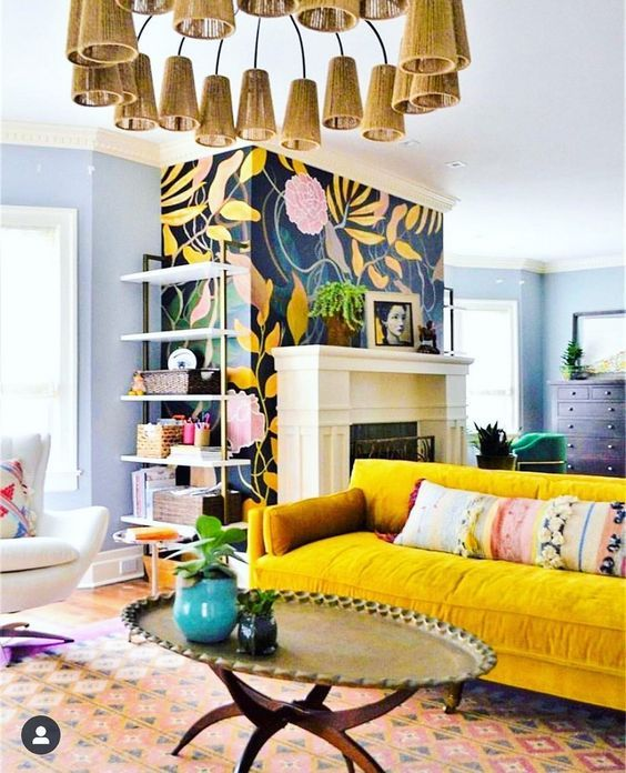 Inspiration : Bohemian Style Ideas - Interior Design | Design .