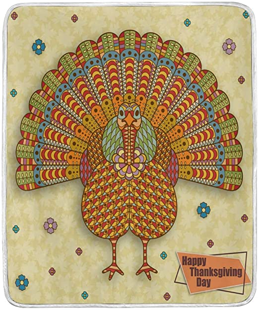 Amazon.com: Wamika Thanksgiving Throw Blanket Home Decor, Super .