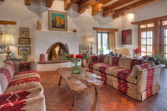 17 Stirring Southwestern Living Room Interiors Made To Inspi