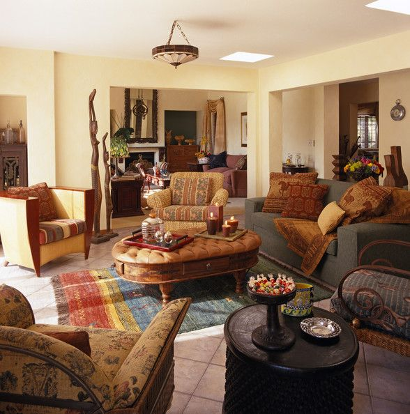 Southwestern Living Room Designs