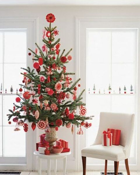 ATTRACTIVE SPACE SAVING CHRISTMAS TREE INSPIRATIONS | Small .