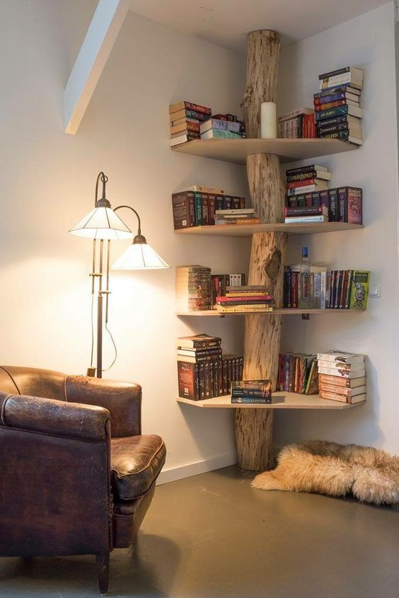 13 Brilliant Bookshelf Ideas for Small Room Solutions - Home Ideas