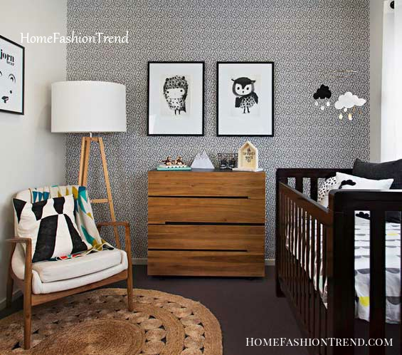 Small baby room: ideas to make this little corner special - Home .