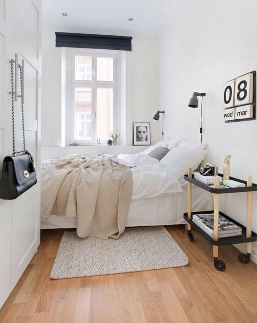 Narrow or Small Rooms, Bedroom Design Ide