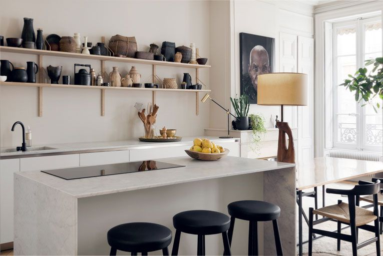 Inspirational Stunning Modern French Apartment in Lyon | Kitchen .