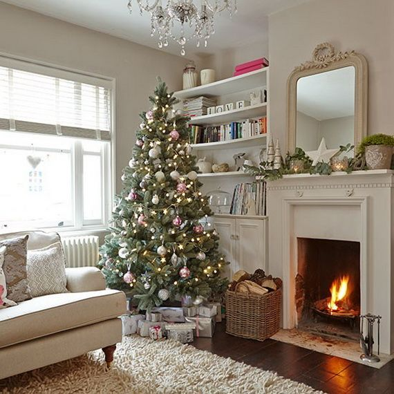 70 Stylish Christmas Décor Ideas In Grey Color and French Chic .
