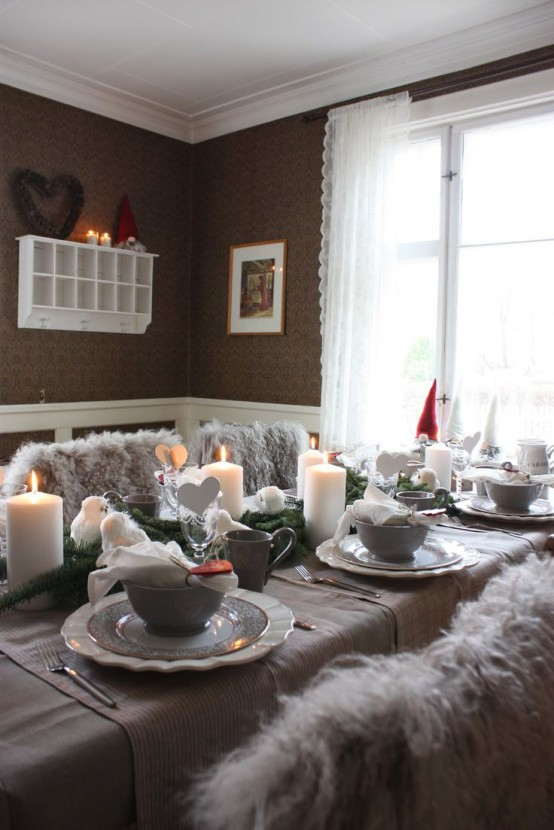 38 Stylish Christmas Décor Ideas In All Shades Of Grey - DigsDi