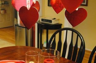 50 Amazing Table Decoration Ideas for Valentine's Day   Valentines .