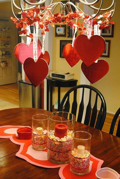Table Decoration Ideas for Valentine's   Day