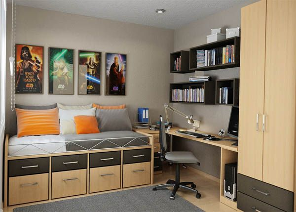 25 Room Designs for Teenage Boys | Freshome.c
