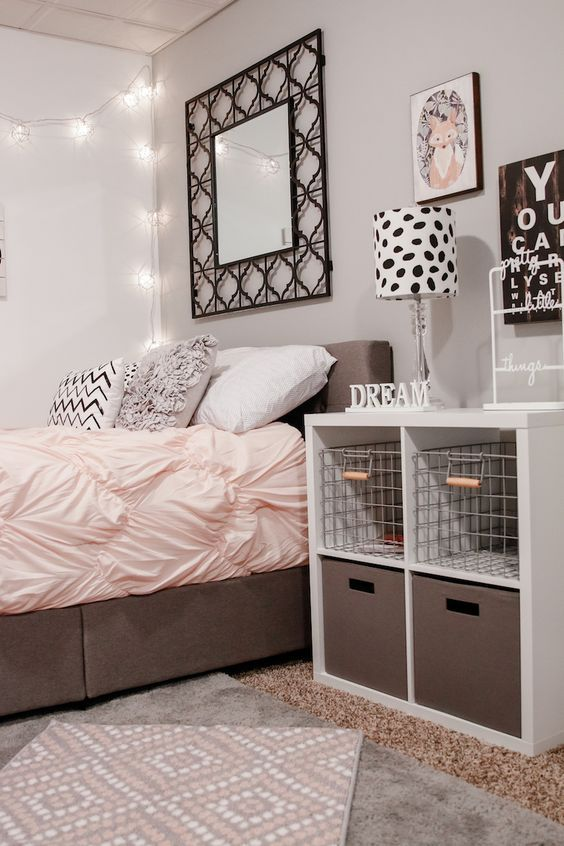 Bedroom | Girl bedroom designs, Room, Teenage girl bedroom desig