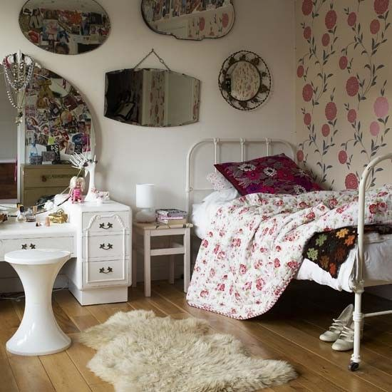 Dream Vintage Bedroom Ideas For Teenage Girls | Bedroom vintage .