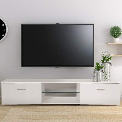 Amazon.com: TUSY TV Stand for 65 Inch Television Stands White .