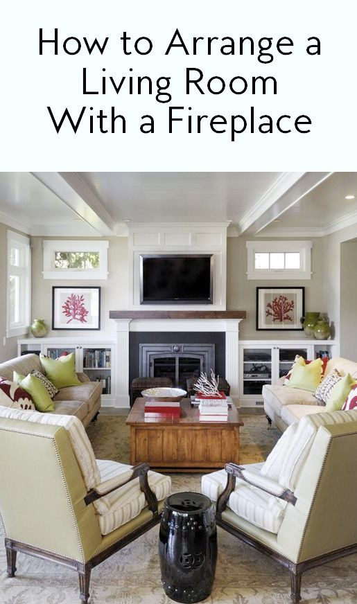7 Ways to Arrange a Living Room with a Fireplace | Fireplace .