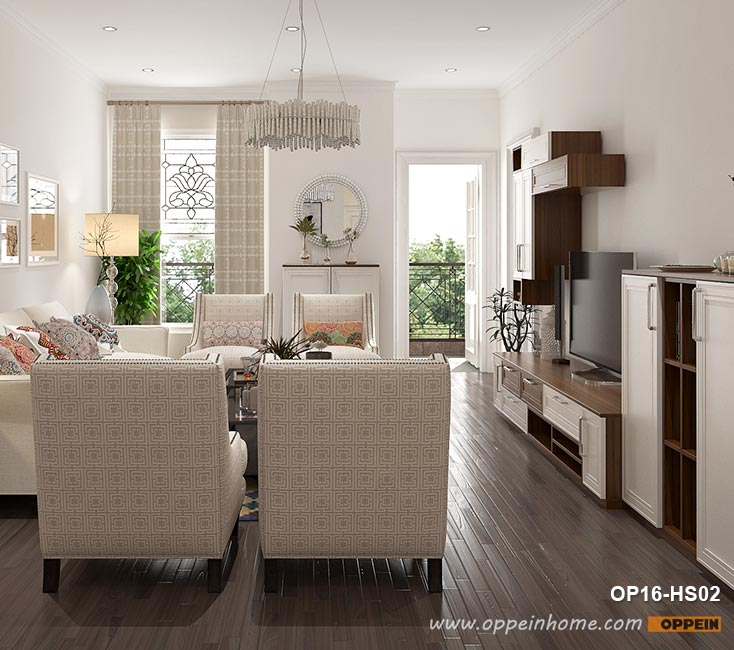 Traditional Style House Design with 4 Bedrooms OP16-HS02- OPPEIN .