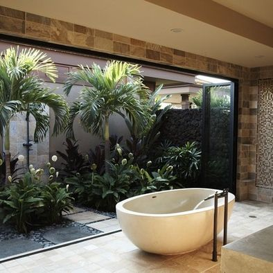Tropical Bathroom Ideas For Small Bathrooms Design, Pictures .