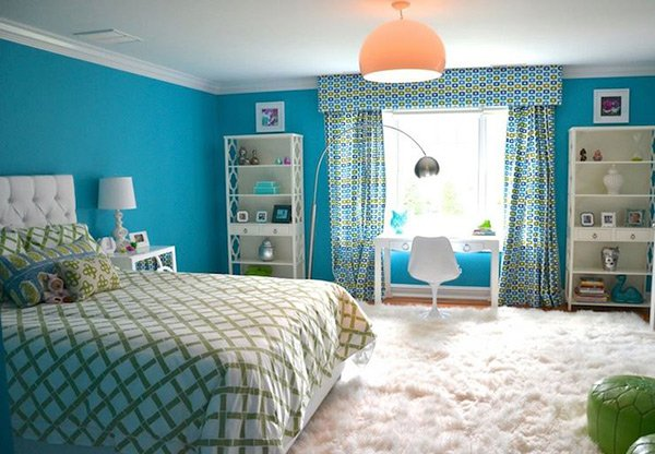 20 Fashionable Turquoise Bedroom Ideas | Home Design Lov
