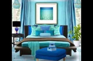 Turquoise bedroom decorating ideas - YouTu