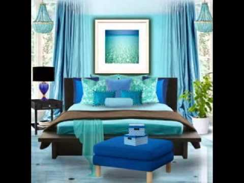 Turquoise Bedroom Design Ideas